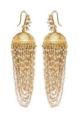 Nitara Gold Jhumka