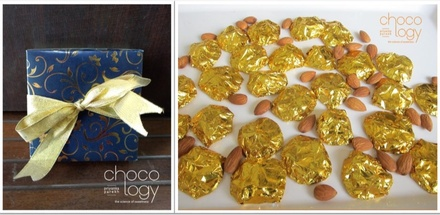 Chocology Almond Cluster Chocolate Favor