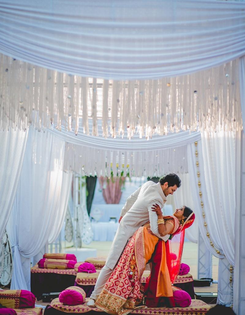 Veda and Vishwanath's Mumbai Wedding held at Somaiya Grounds