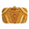 Niche Gold Queen Minaudiere Clutch image