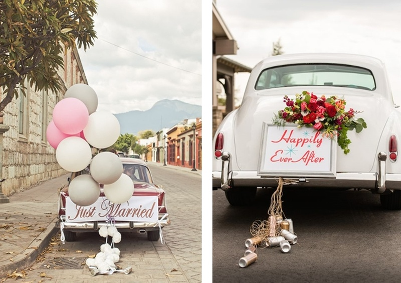 Stunning Wedding Car Decoration Ideas to Leave Your Wedding Venue In Style