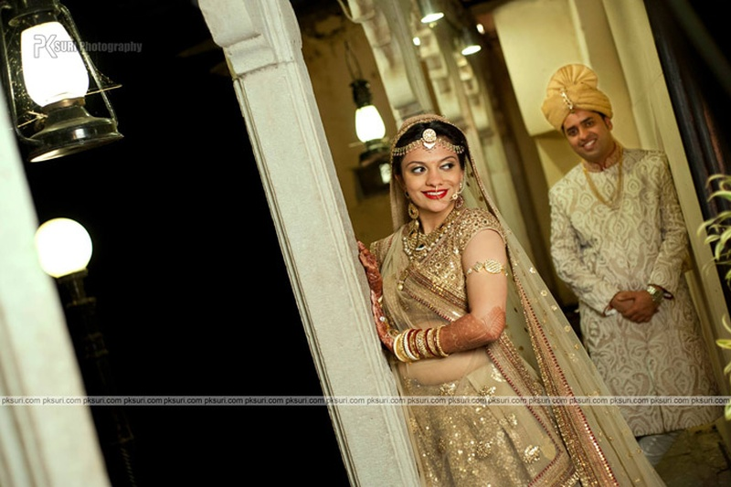 Hetali and Harsjeet's Gujarati Destination Wedding at Jagmandir, Udaipur
