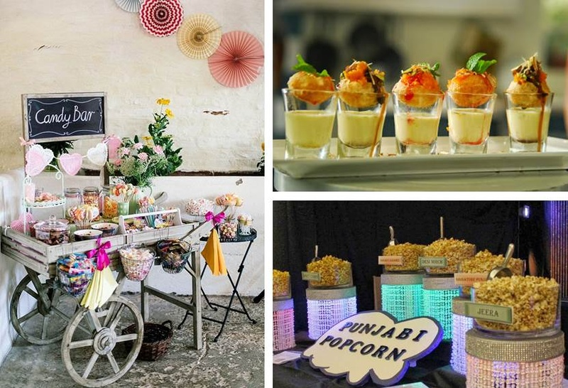 8 Wedding Food Bar Ideas That Will Leave Your Guests Super Pleased!