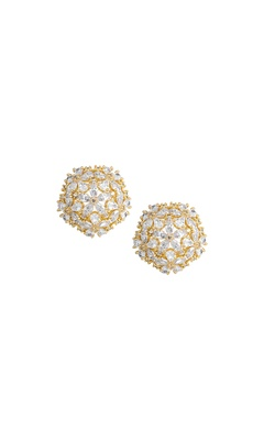 Clustered Floral Earrings
