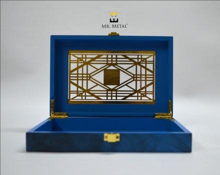 Exquisite Affaire Geo Glam 2 Wedding Box