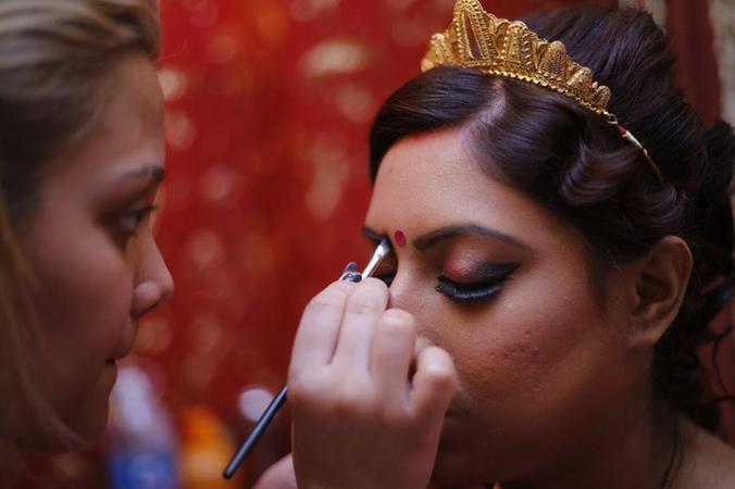 Barbies Wedding Hair And Makeup : Barbies Makeover, Bridal Makeup Artist in Kolkata WeddingZ