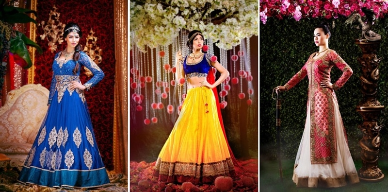 Disney Princesses As Indian Brides? Channel Your Inner Princess With These Looks.