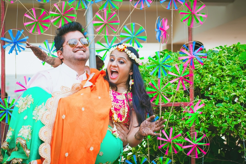 Beautiful, Bright DIY Desi Wedding held at Hotel Bristol, Gurgaon
