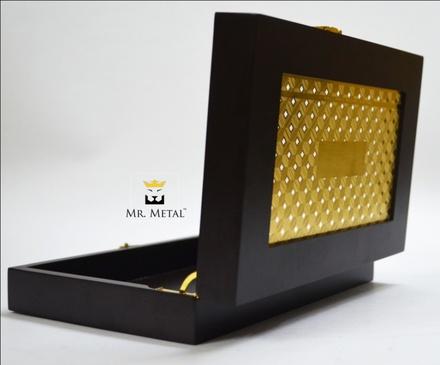 Exquisite Affaire Cube Cut Wedding Box