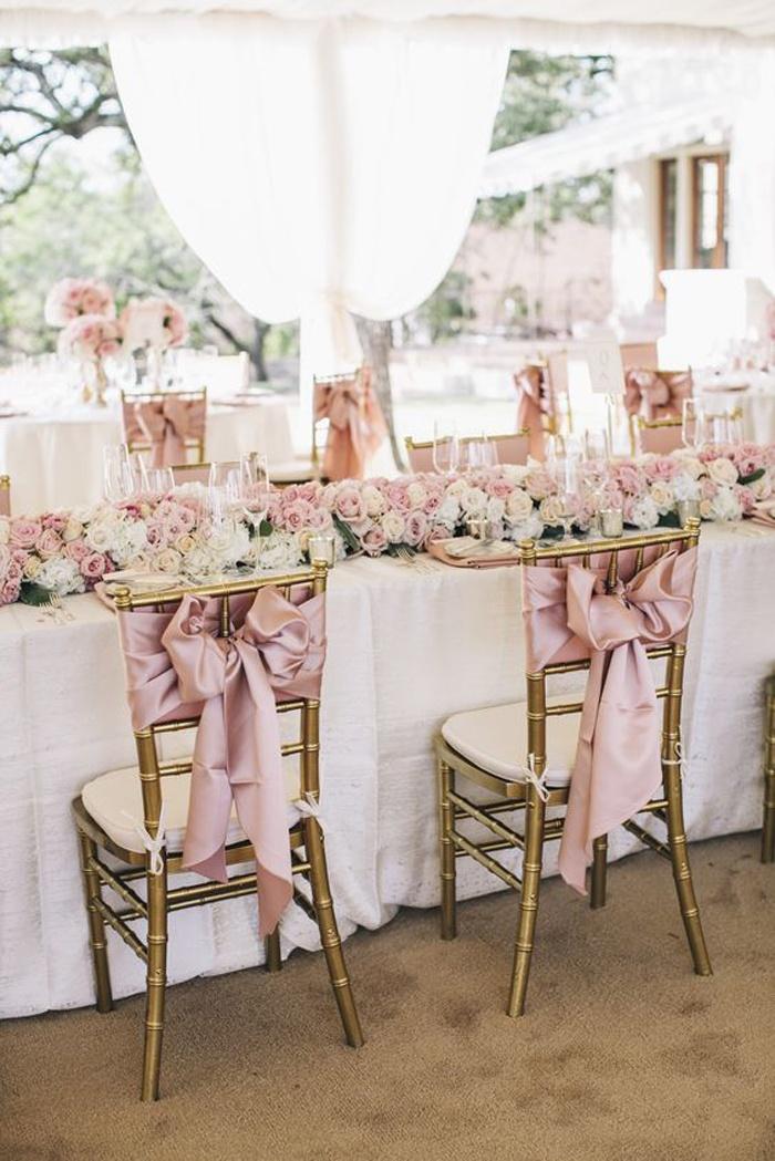 Rose quartz a new entrant in wedding theme ideas blog for Wedding table dressing ideas