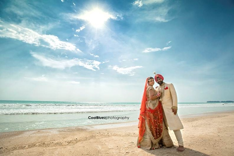 Vibrant Beach Destination Wedding Held in Thailand