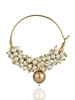 Imli Street Pearl Bali With Gold Bead image