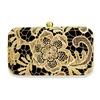 Niche Gold Lace Clutch image