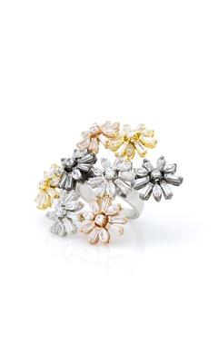 Floral Multi-Cut Ring
