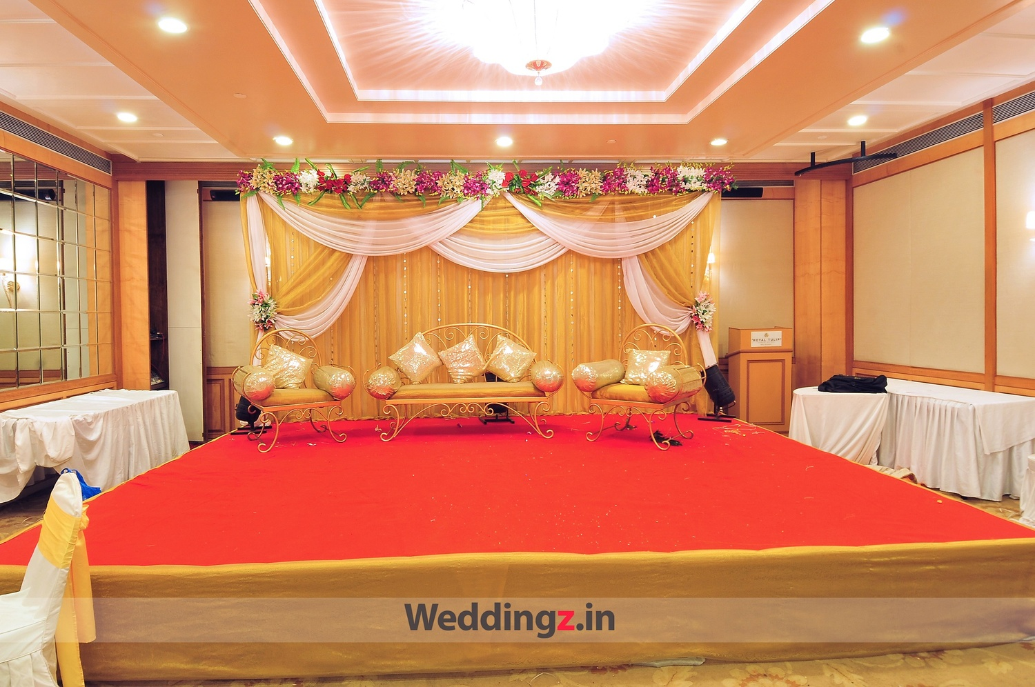 Royal tulip kharghar mumbai banquet hall 5 star for Hotel decor items