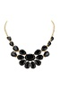 Nizanta Black Stone Bib Necklace image