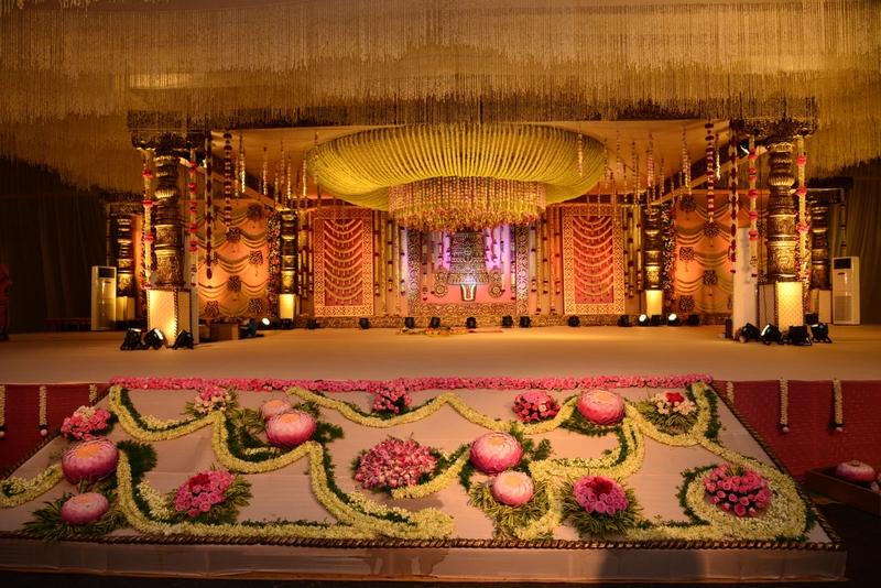 Sri Manjunatha Palace Nagawara Bangalore Banquet Hall