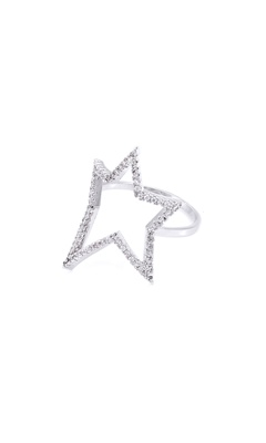 Studded Star Ring