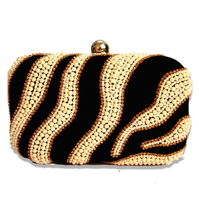 Niche Limelight Bling Minaudiere