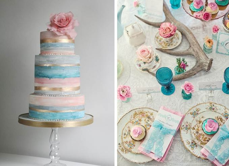5 Colour Themes To Incorporate At Your Winter Wedding: #WinterWeddingSeries