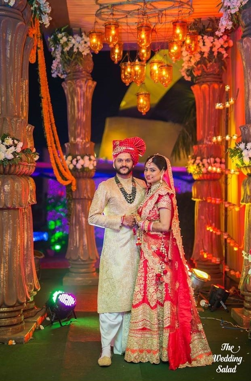 Traditional, Rich Hindu Wedding at Whistling Woods, Ludhiana