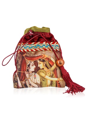 Malhar Raag Krishna Favor Bag