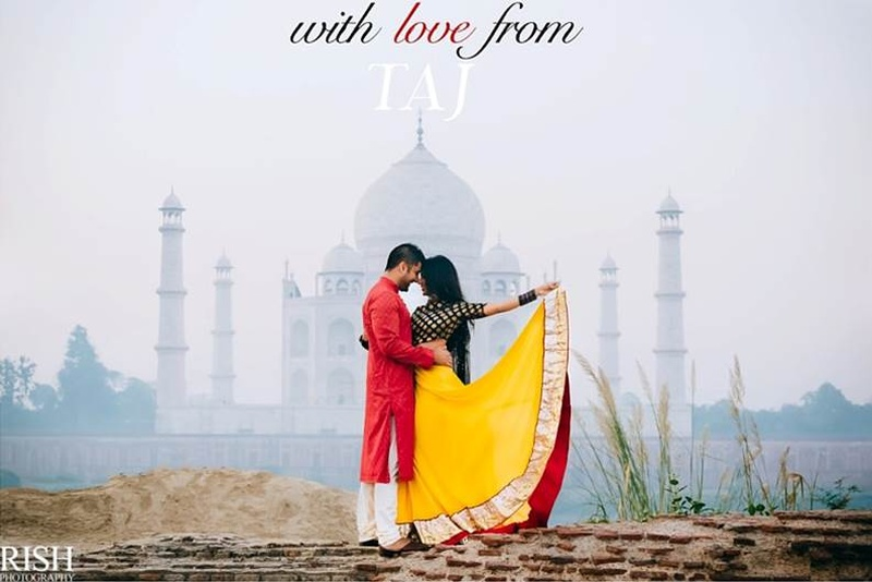 With Love, From Taj – A Bollywood-Inspired Pre-Wedding Shoot With Tons Of Romance!