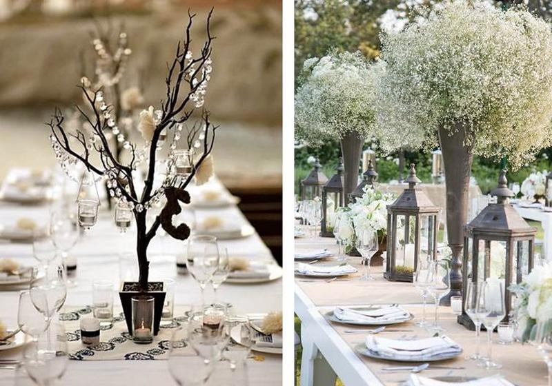 Creative Décor Ideas for a Winter Wonderland Wedding Affair. #WinterWeddingSeries