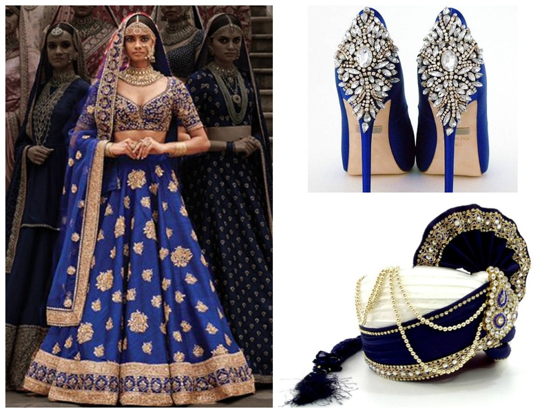 Virgo Lookbook: A Sapphire-Blue Guide To Plan The Perfect Virgo Wedding.