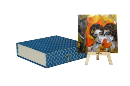 Artflute- Love Midst Nature Painting With Gift Box
