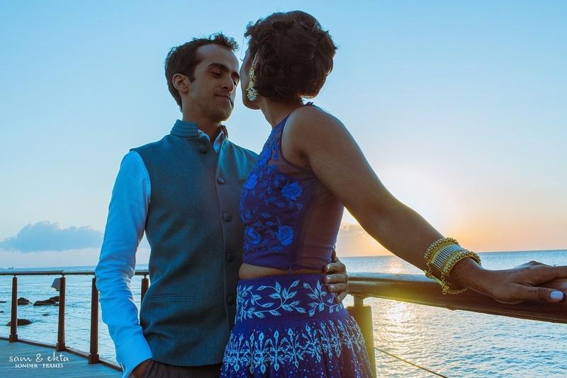 International Love! All-White Destination held at Hotel Intercontinental, Mauritius.