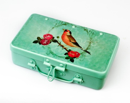 Fluke Design Company Bird Design KeepSake Box