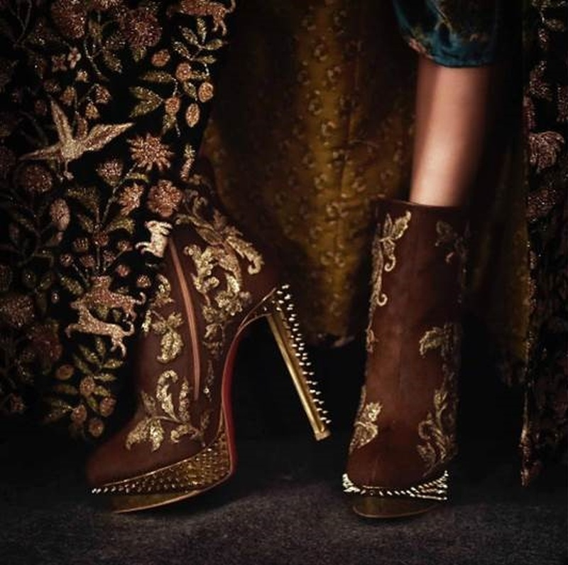 Sabyasachi & Christian Louboutin: An Unmatched Accessory Design Collaboration.