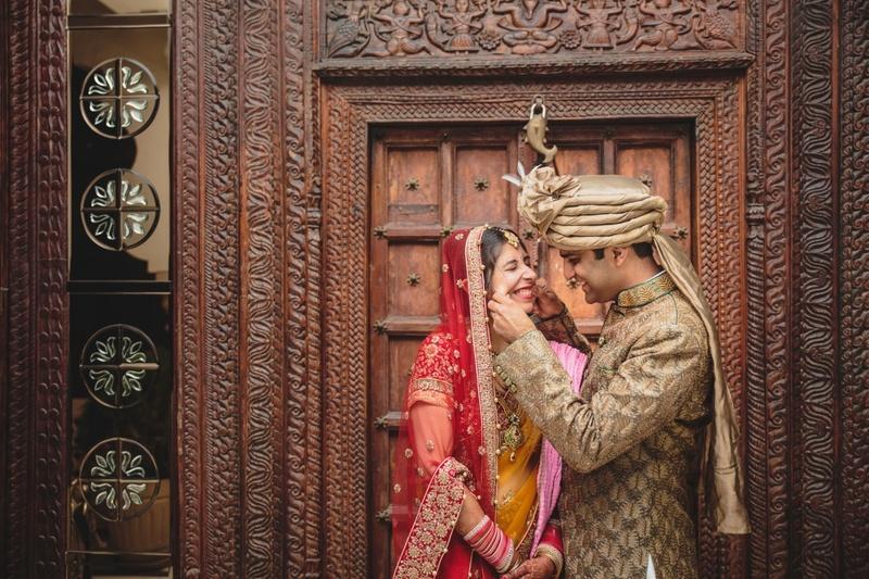 Classically Quaint Temple Wedding Held at Karneshwar Mandir, Karnal.