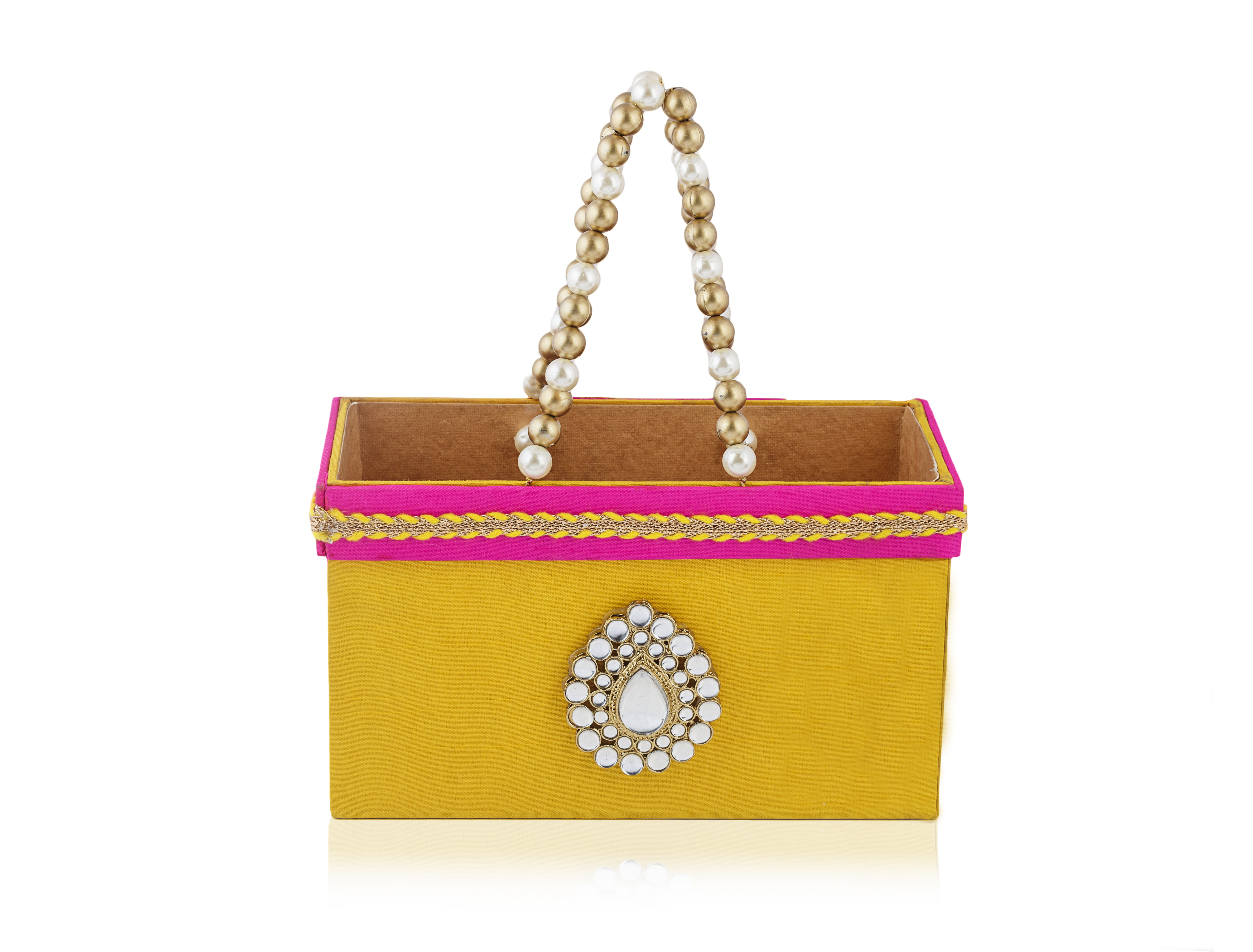 Items For Wedding Gift Bag : Buy Rajwada Gift-sweet Basket Bag (small ) online Gift Items ...
