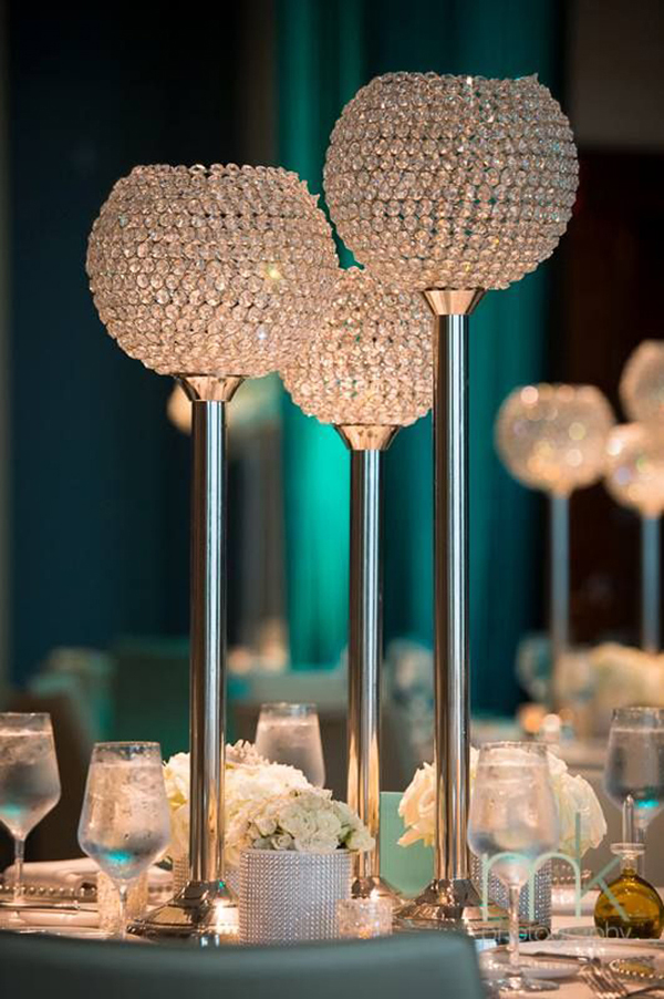 Ideas on how to glam up your wedding décor with