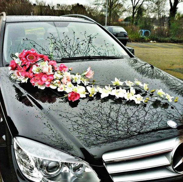 Indian wedding car decoration ideas that are fun and for Automobile decoration