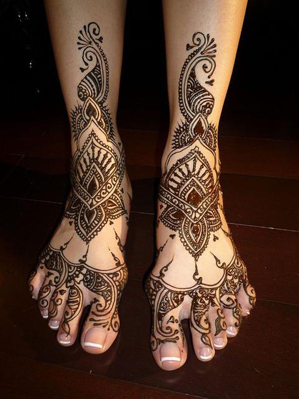 Bridal Leg Mehndi : Best arabic bridal mehndi designs that are effortlessly gorgeous