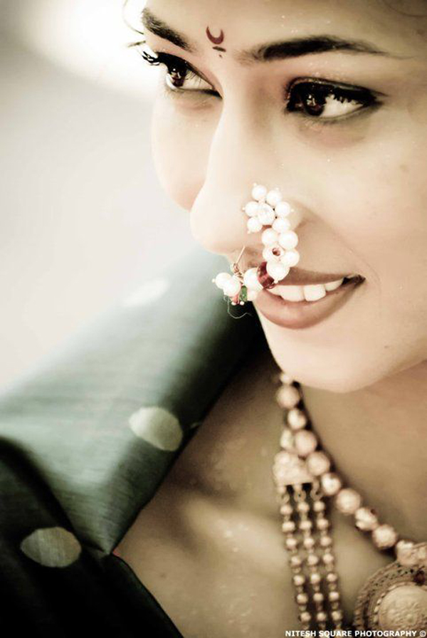 ultimate lookbook of bridal nose ring designs 2016 is here