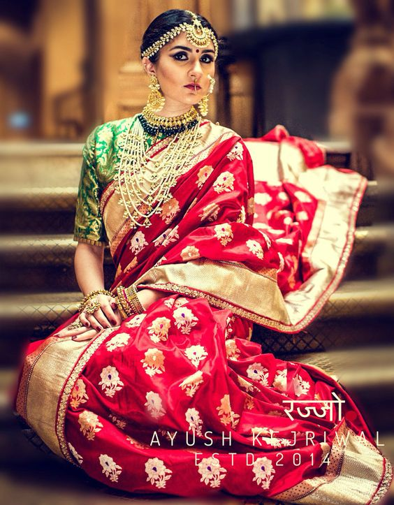 Fresh New Bridal Lehenga & Bridal Saree Designs by Ayush ...