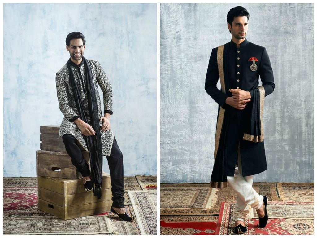 Famous Indian Wedding Outfits For Men Sketch - All Wedding Dresses ...