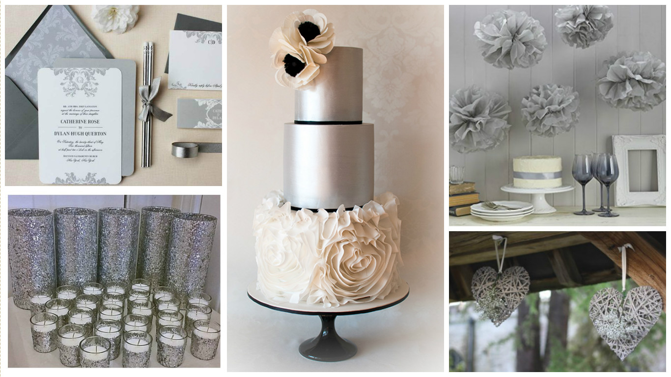 50 Shades of Grey: How to Plan the Perfect Silver Wedding?