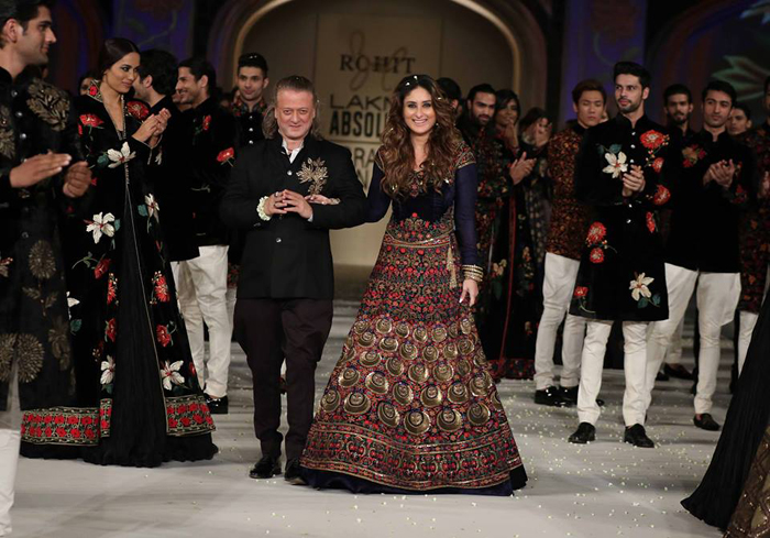 7 Reasons We Loved Rohit Bal's LFW Grand Finale