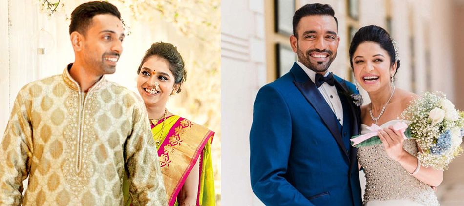 Contemporary and Traditional Wedding Inspirations from Robin Uthappa and Dhawal Kulkarni's Marriage