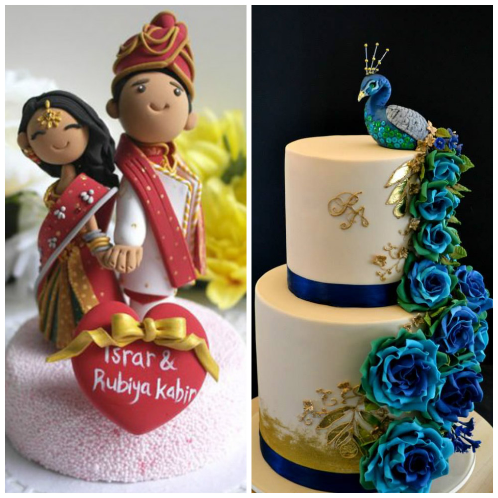 Cutesy Indian Wedding Cake Designs To Add A Desi Touch