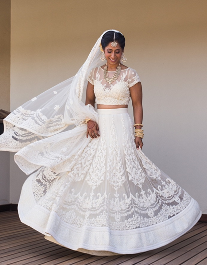Did you know white lehengas are totally trending? Check out our top 5 picks of the season!