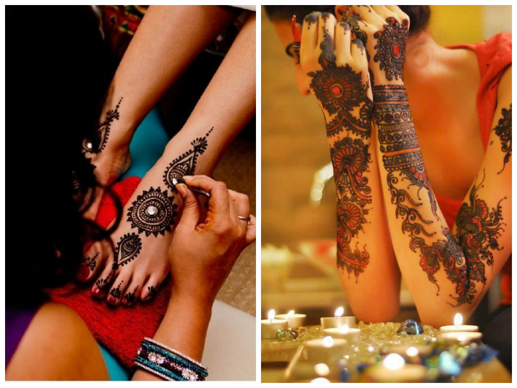 Easy Bridal Mehndi Designs with Stones You Must See Right Now!