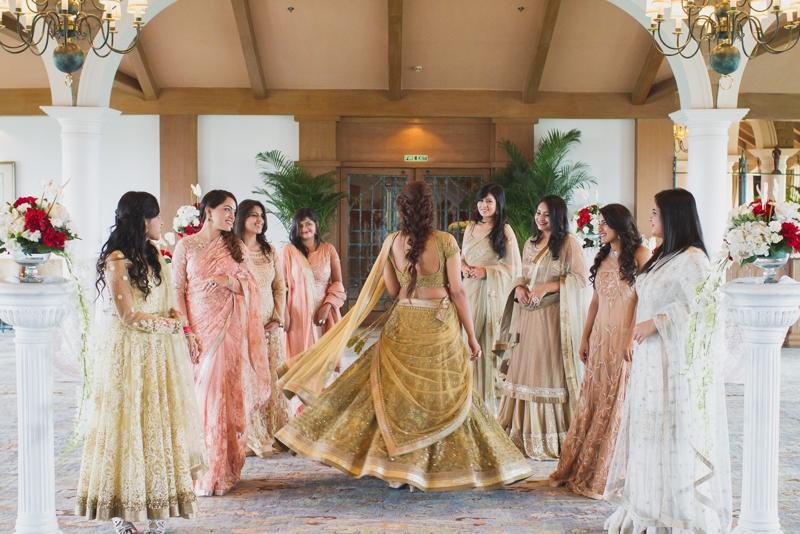 Eccentric Bridesmaid Pre-Wedding Photoshoot at The Taj Mahal Hotel, New Delhi!