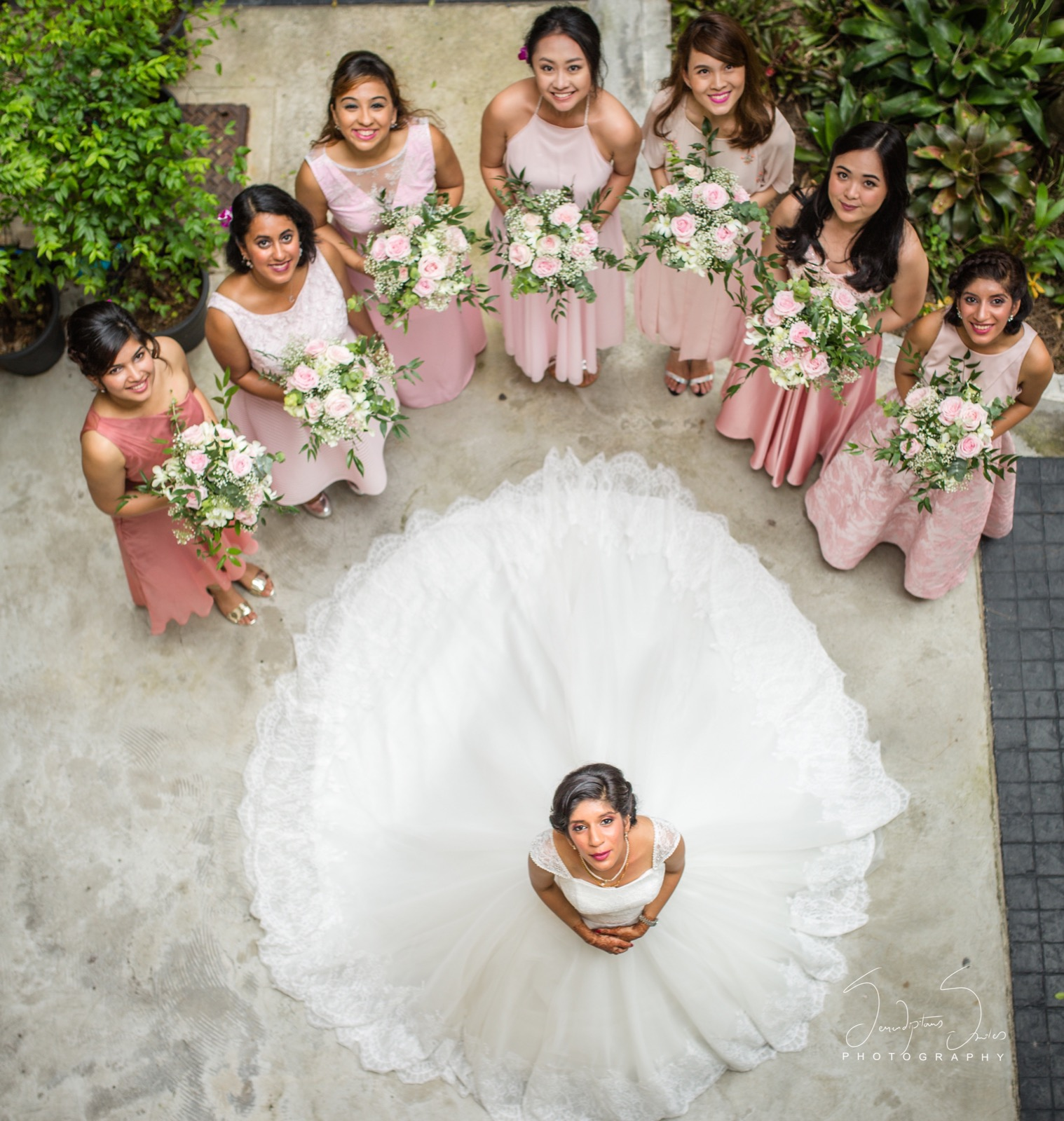 Hindu-Christian Kerala Wedding Held in Phuket, Thailand