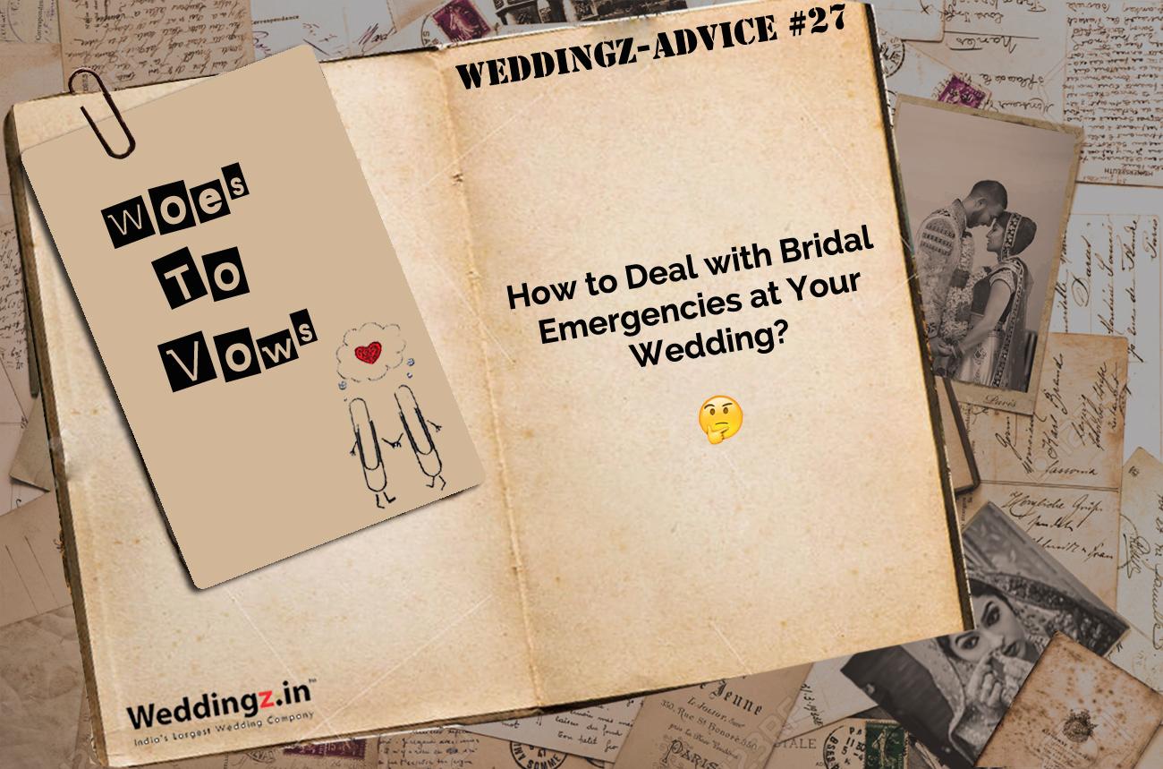 How to Handle Wedding Day Emergencies?